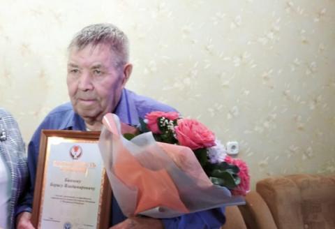 Трудовая гордость Балезинского района Борис Биянов